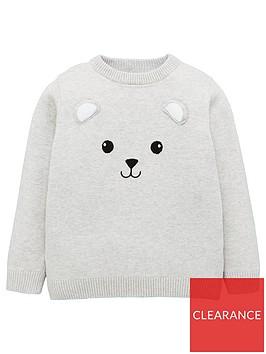 v-by-very-bear-jumper-grey