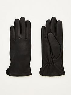 v-by-very-plain-leather-gloves-black