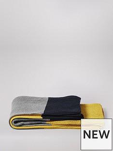 swoon-beasnbspcotton-blanket-camel-navy-and-grey