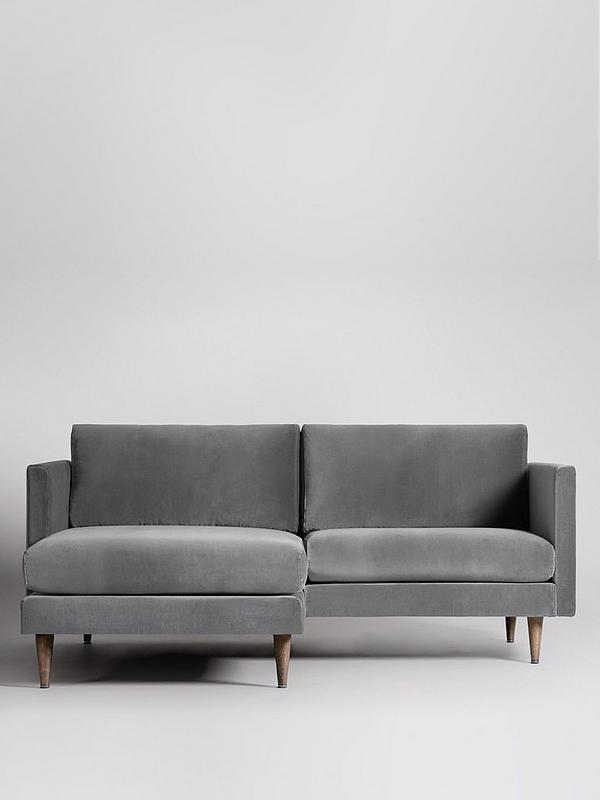 100% authentic f4b1f 0f956 Tivoli Fabric Left Hand 2 Seater Corner Sofa