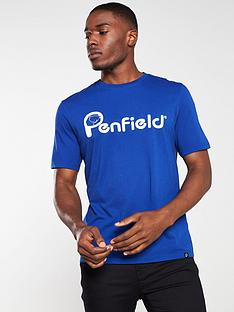 penfield-apremont-logo-t-shirt-blue