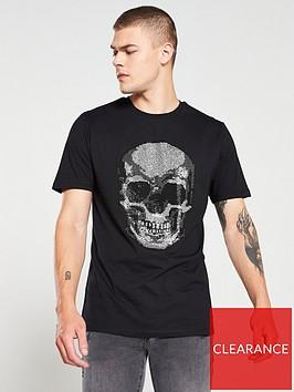river-island-black-diamante-skull-slim-fit-t-shirt