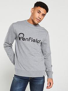 penfield-capen-logo-sweatshirt