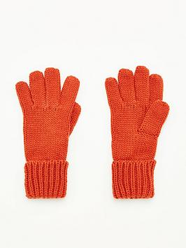 v-by-very-knitted-glove-rust