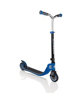 Globber Globber Flow 125 Lights Scooter - Black/Blue