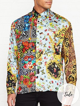 versace-jeans-couture-patchwork-baroque-floral-print-shirt--nbspmulti