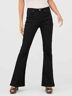 v-by-very-high-rise-flare-jean-black