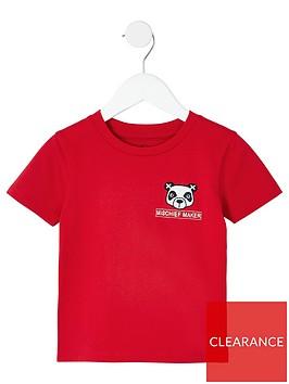 river-island-mini-mini-boys-panda-t-shirt-red