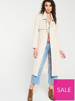 mango-trench-coat-brown