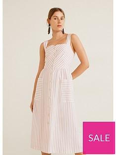 mango-stripe-shirt-dress-pastel-pink