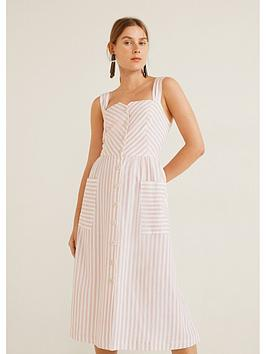 mango-stripe-shirt-dress-pastel-pink