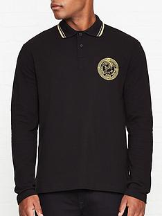 versace-jeans-couture-bolla-greek-god-logo-long-sleeve-polo-shirt-black