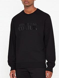 versace-jeans-couture-rubber-logonbspprint-sweatshirt-black