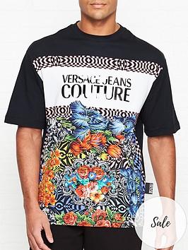 versace-jeans-couture-floral-block-logo-print-t-shirt-black