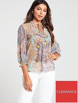 mango-paisley-print-blouse-blue