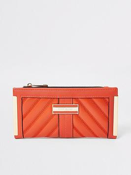 river-island-metal-corner-purse-orange