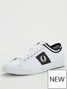 fred-perry-leather-trainer