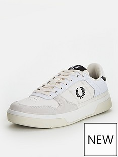 fred-perry-b300-trainer-snow-white