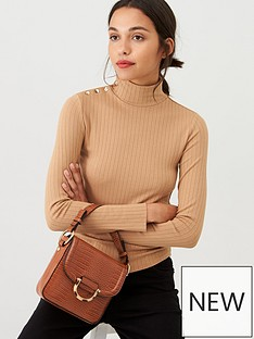 mango-buttont-neck-roll-neck