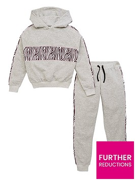v-by-very-girls-2-piece-animal-detail-hoodie-amp-jogger-outfit-grey