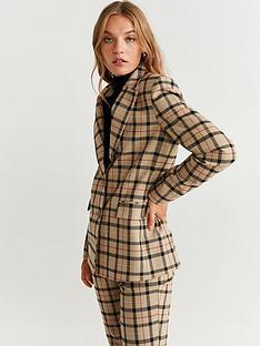 mango-check-blazer