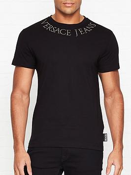 versace-jeans-couture-studded-logo-t-shirt-black