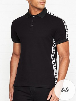 versace-jeans-couture-logo-tape-sleeve-polo-shirt-black