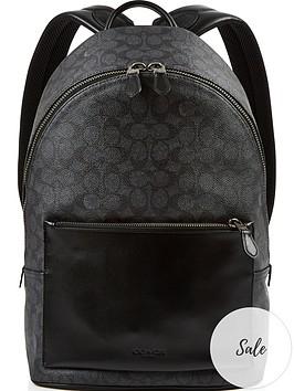 coach-signature-metropolitan-soft-leather-backpack-charcoalblacknbsp
