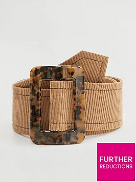 mango-tortise-shell-buckle-belt