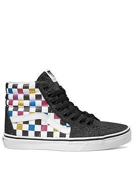 vans-glitter-checkerboard-sk8-hi