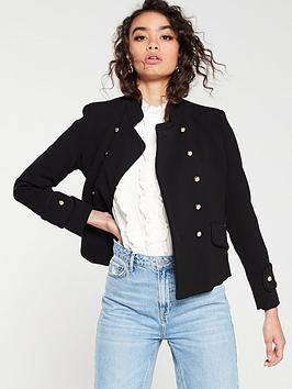mango-military-jacket-black