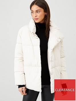 mango-button-front-padded-coat-off-white