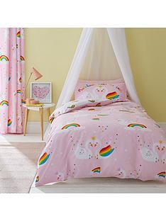 catherine-lansfield-rainbow-swan-duvet-cover-set