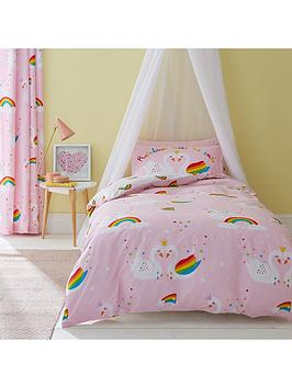 catherine-lansfield-rainbow-swan-duvet-cover-set