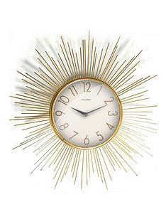 star-burst-wall-clock