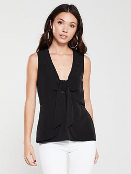river-island-bow-front-tank-top-black