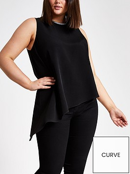 ri-plus-woven-asymetic-vest--black