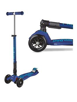 Micro Scooter Deluxe Foldable Maxi Navy
