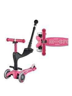 Micro Scooter 3 IN 1 Mini Deluxe Plus - Pink