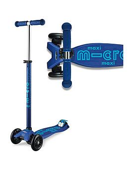 Micro Scooter Maxi Deluxe - Navy