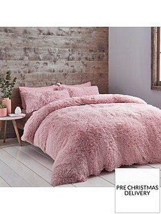 catherine-lansfield-cuddly-faux-fur-duvet-cover