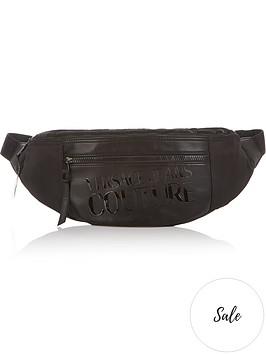versace-jeans-couture-mens-logo-print-faux-leather-bum-bag-black