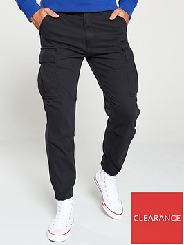 levis-tapered-cargo-trousers-black