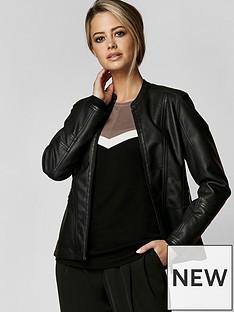 wallis-wallis-peite-melina-pu-jacket
