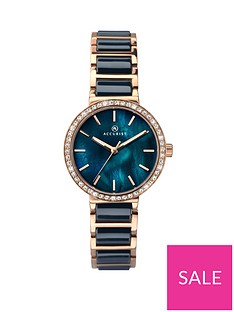 accurist-accurist-blue-mother-of-pearl-crystal-set-dial-rose-gold-and-blue-ceramic-bracelet-ladies-watch