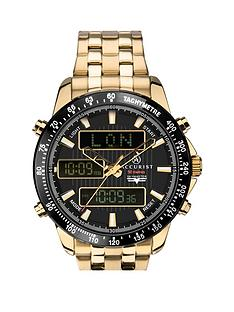 accurist-accurist-black-world-time-chronograph-dial-gold-stainless-steel-bracelet-mens-watch