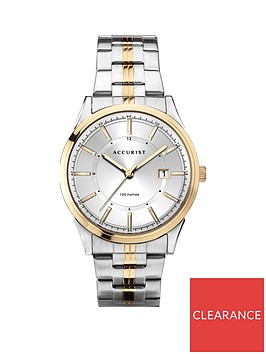 accurist-accurist-silver-sunray-and-gold-detail-date-dial-two-tone-stainless-steel-bracelet-mens-watch