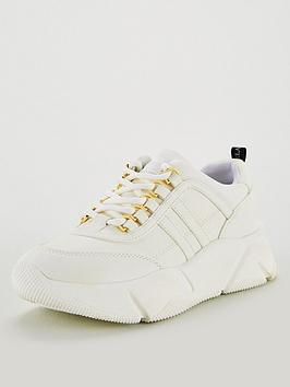 carvela-lassitude-chunky-trainers-white