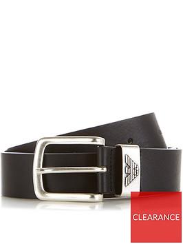 emporio-armani-mens-eagle-keeper-leather-beltnbsp--black