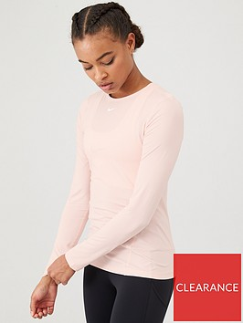 nike-training-pro-ls-top-pinknbsp